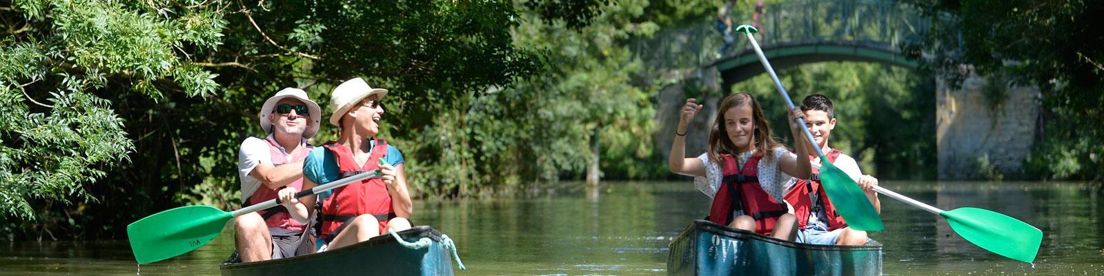Randonnée en canoë