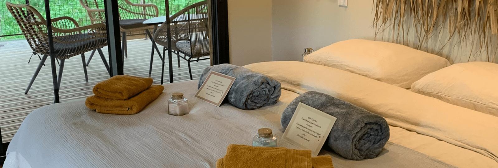 Massage et bien-être chez Jume