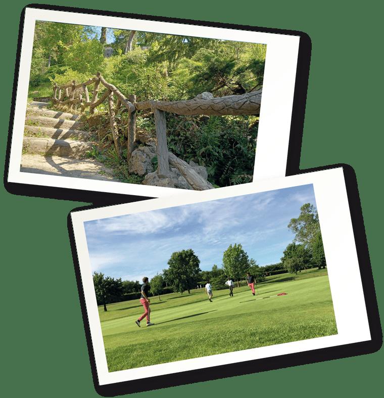 Golf de Niort, jardin des plantes, Niort