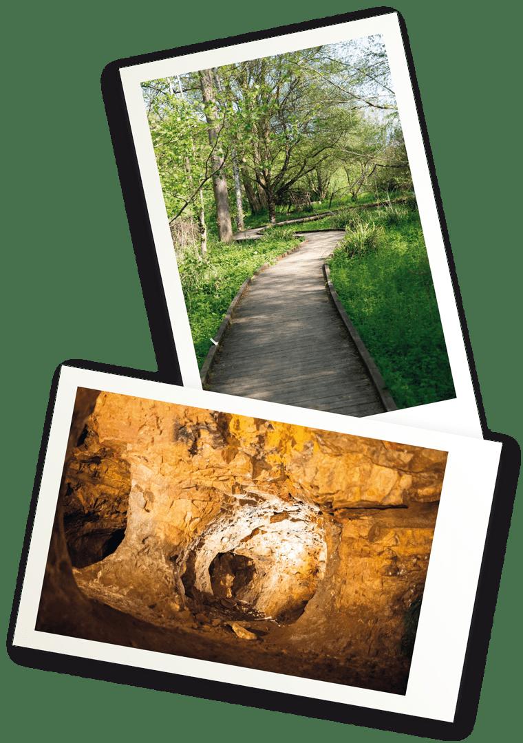 Visite des Mines d'argent et balade sur le chemin de la découverte à Melle