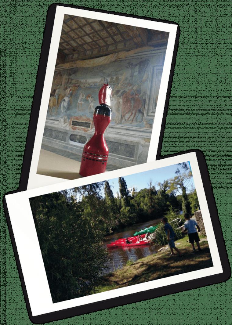 Road trip en camping-car : visite du château d'Oiron