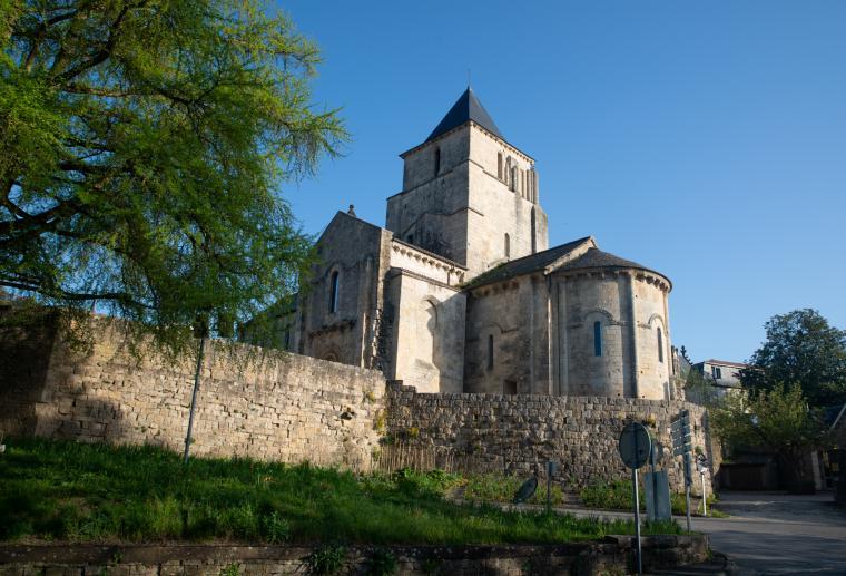 Eglise de Melle, classée unesco