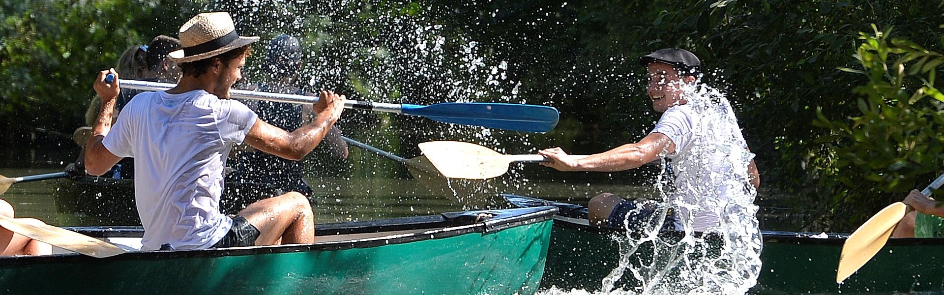 Rallye en canoe